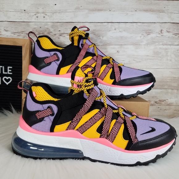 sale retailer 6f593 2b08f Nike Air Max 270 Bowfin Black Atomic Violet NWT